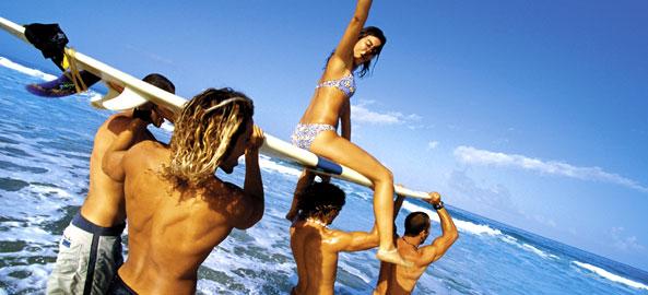 Windsurfing i kite Karaiby